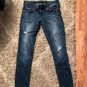 Express Jeans 2L legging low rise